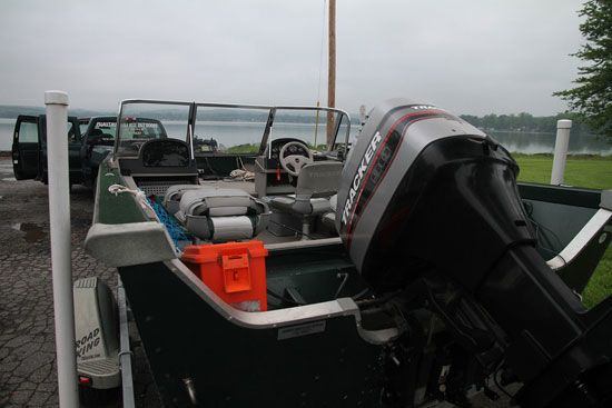Chautauqua Lake Musky Boat